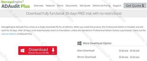 Hakan Uzuner - ManageEngine ADAudit Plus ile Domainimizdeki