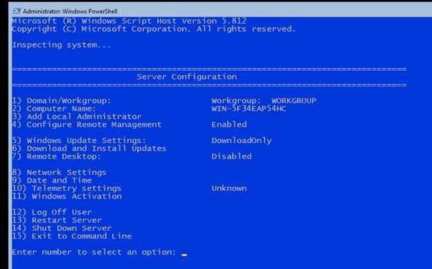 Exchange Server 2019 on Windows Server Core–Windows Server 2019 Core